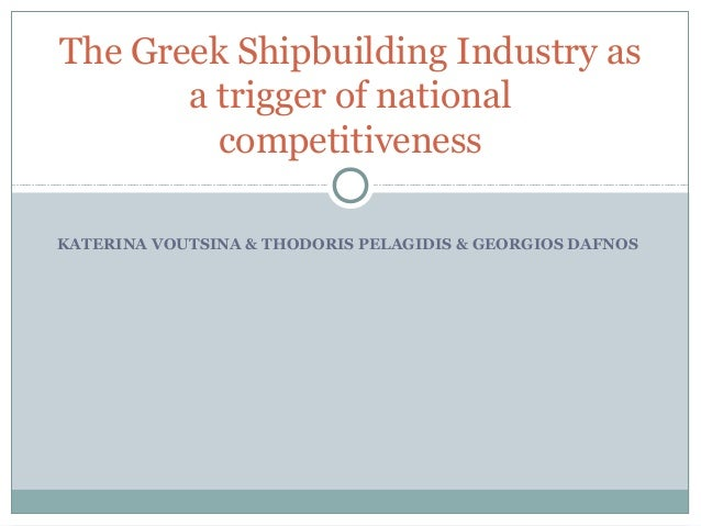 11 Greek Maritime Cluster Research Results Shipbuilding SWOT Analysis