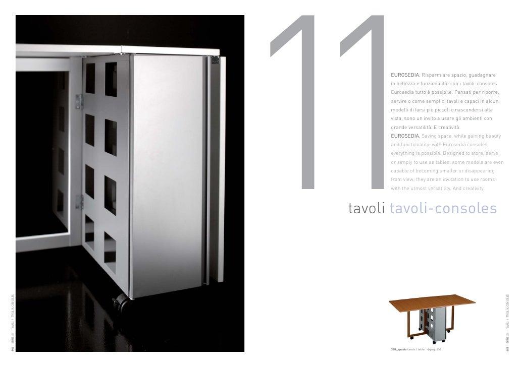 11     EUROSEDIA. Risparmiare spazio, guadagnare                                                       in bellezza e funzi...