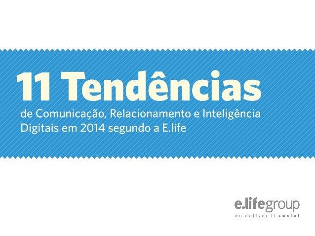 11 tendencias de marketing digital para 2014