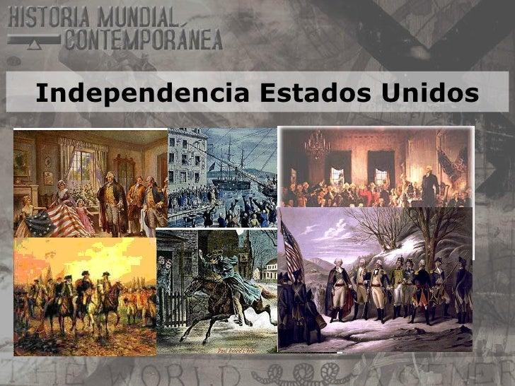 11th 05 indepedencia de estados unidos
