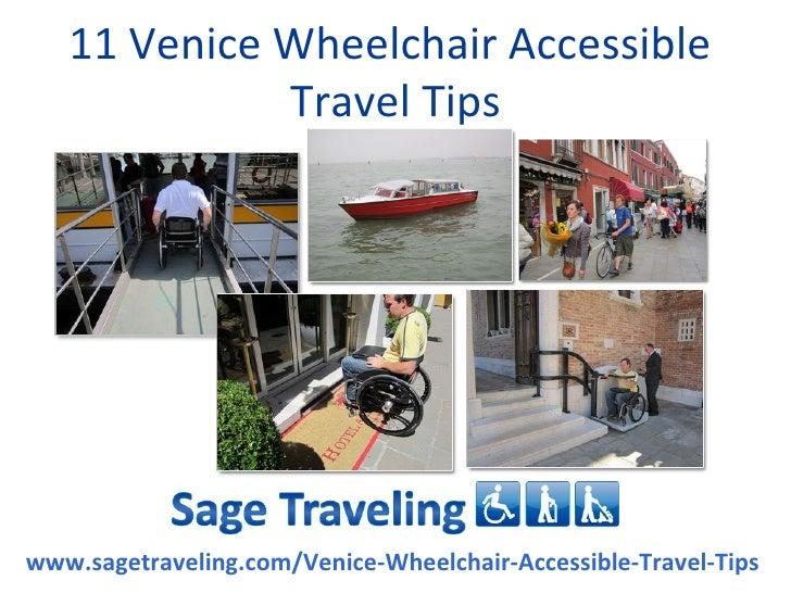 venice handicapped accessible travel keys success