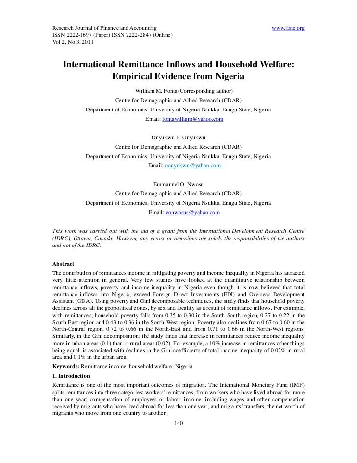 Research Journal of Finance and Accounting                                                      www.iiste.orgISSN 2222-169...