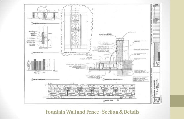 Fountain Detail Drawing Cad Drawing Here Fountain