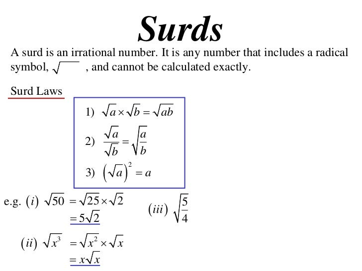 Surds Surds Uncyclopedia The Content Free Encyclopedia