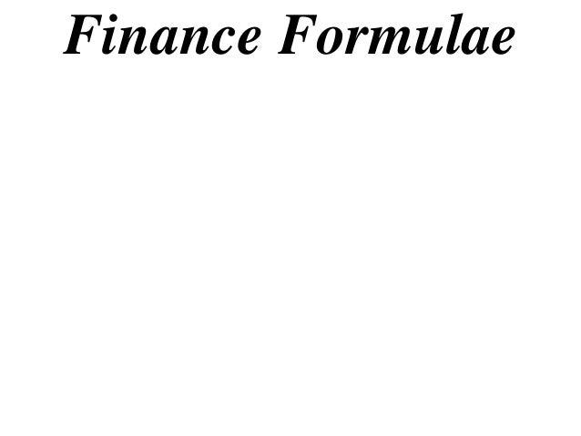 11 x1 t14 13 finance formulas (2013)