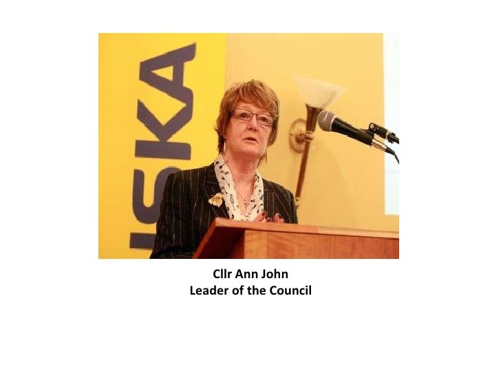 Cllr Ann JohnLeader of the Council