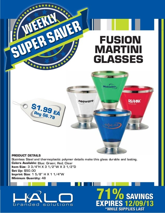 Fusion Martini Glasses 71% Off! #promodeal #actnow #martiniglass