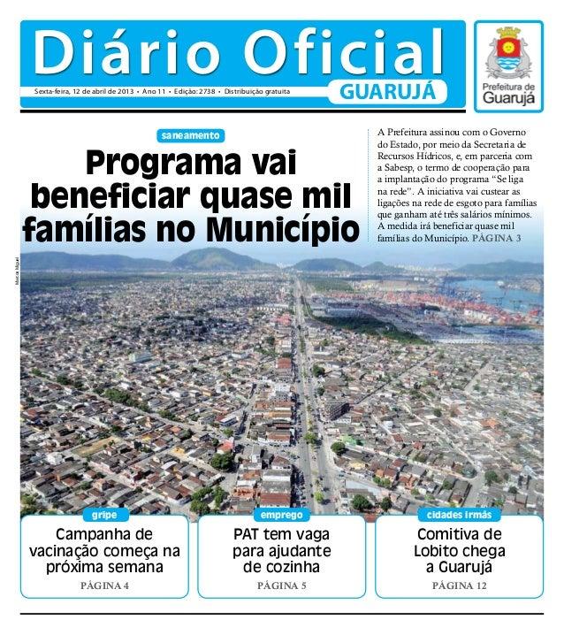 Diário Oficial - 12/04/2013