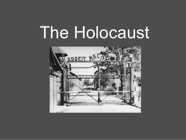 12.1.3 the holocaust