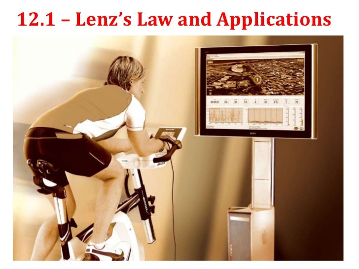 12.1 – Lenz's Law and Applications