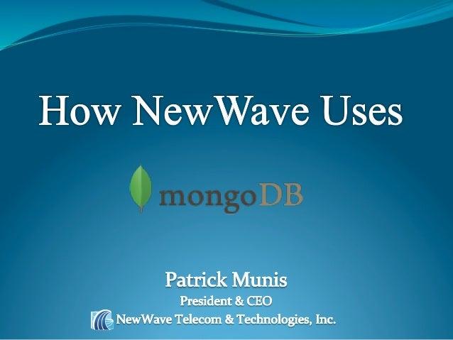 NewWave Telecom & Technologies, Inc.            www.newwave-technologies.com                                       Agenda ...