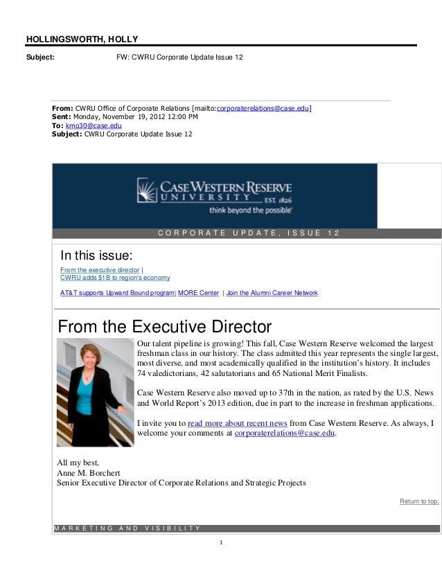 12.11.19 cwru corporate update issue 12   aspire grant