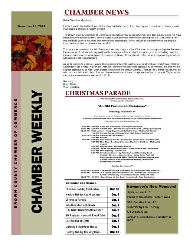 CHAMBER NEWS                                                          Hello Chamber Members,                              ...