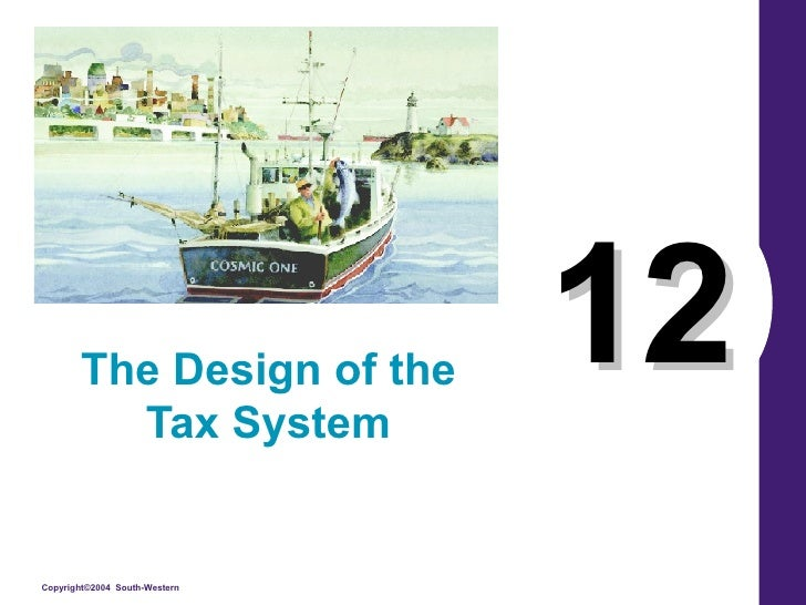 12 The Design of the Tax System