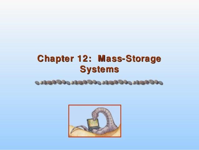12.mass stroage system