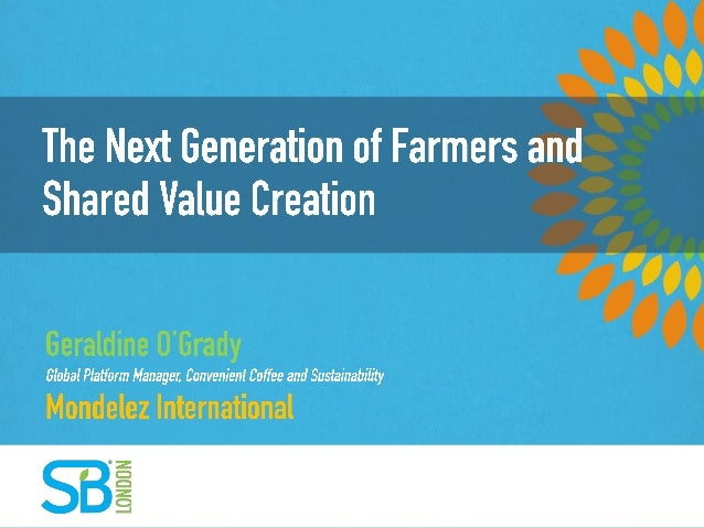 The Next Generation of Farmers and Shared Value Creation