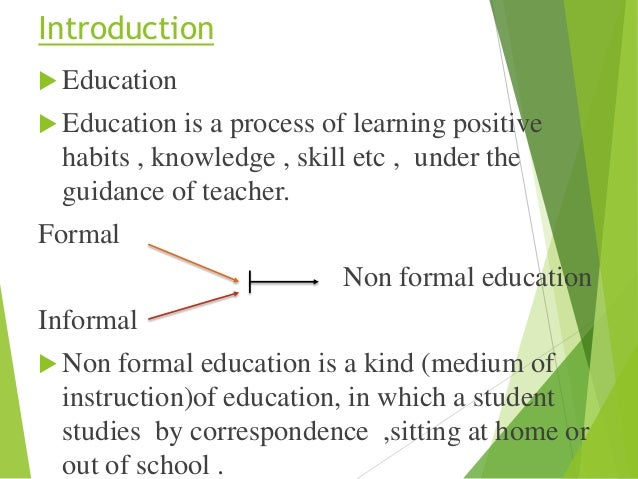 a paper that defines adult education