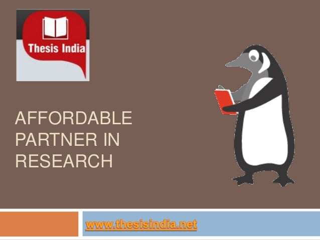 AFFORDABLE PARTNER IN RESEARCH