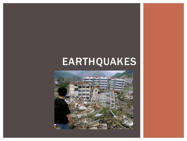 12. earthquakes notes