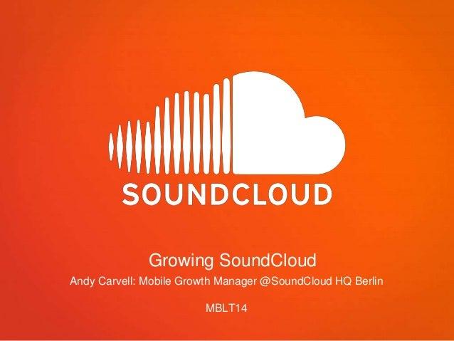 #MBLT14 presentation — Soundcloud