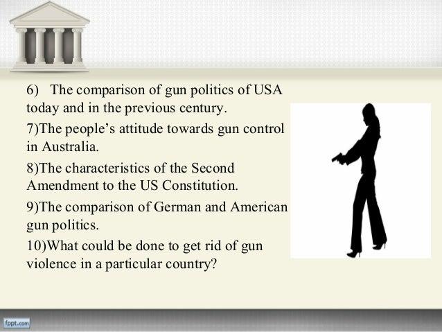 Gun Control Research Paper...?
