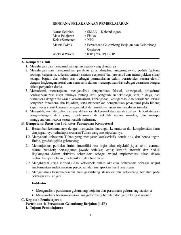 Materi Pelajaran Administrasi Kepegawaian Kelas Xi 12 Sma Kelas Xi Rpp Kd 3 11 Pers Gelombang