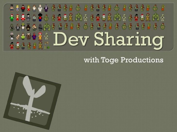 Dec. 16, 2010 Mochi Community Event:Toge Productions