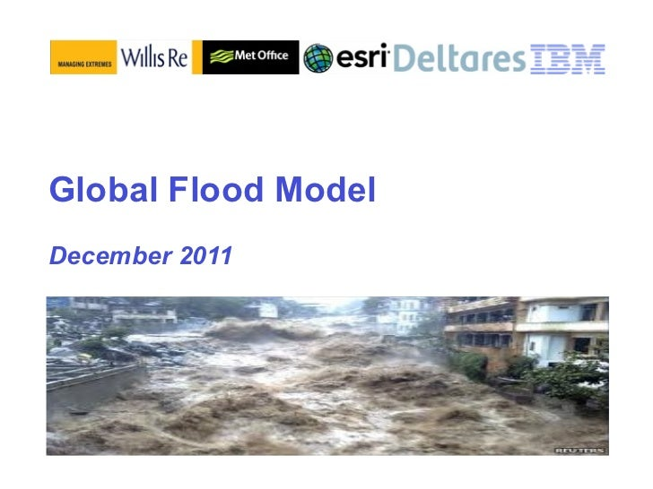 Urban Systems Collaborative Seminar | Peter Williams, Global Flood Model