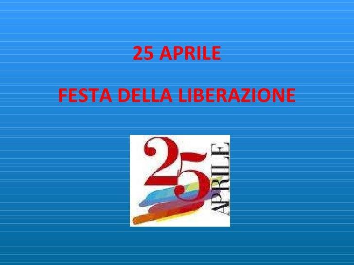 festa della liberazione - photo #3