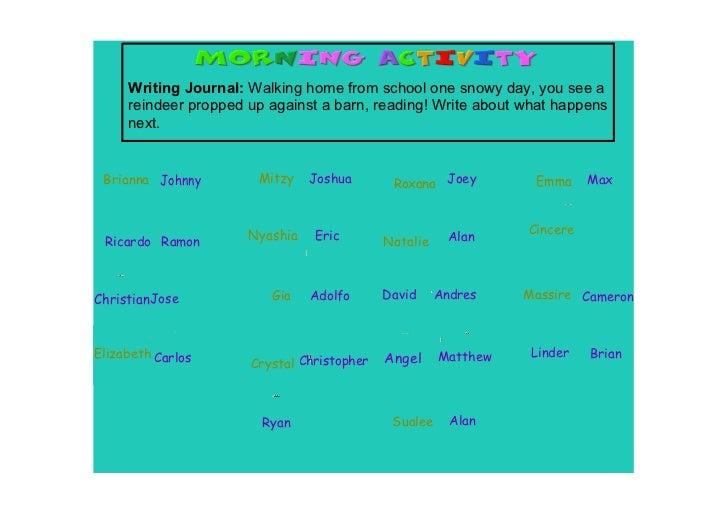 WritingJournal:Walkinghomefromschoolonesnowyday,youseea     reindeerproppedupagainstabarn,reading!Write...