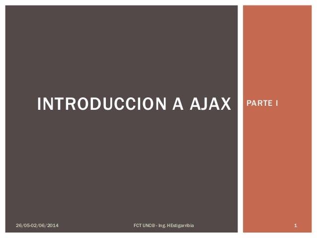 Introduccion a AJAX