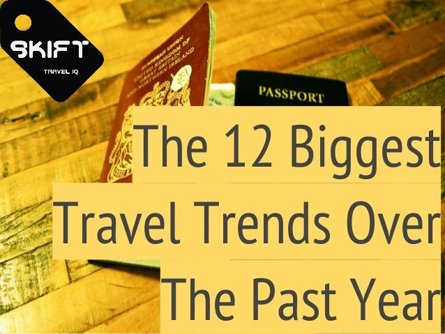 The 12 Biggest Travel Trends Over The Past Year