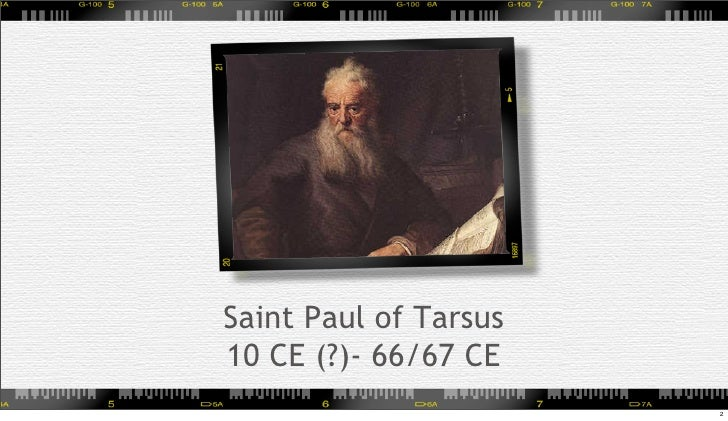 Paul of Tarsus Contribution Essay Sample