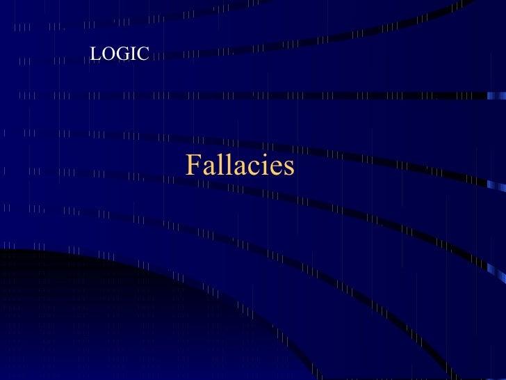 12 fallacies-091211092734-phpapp01