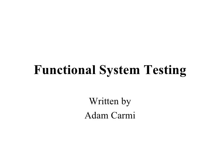 12 functional-system-testing
