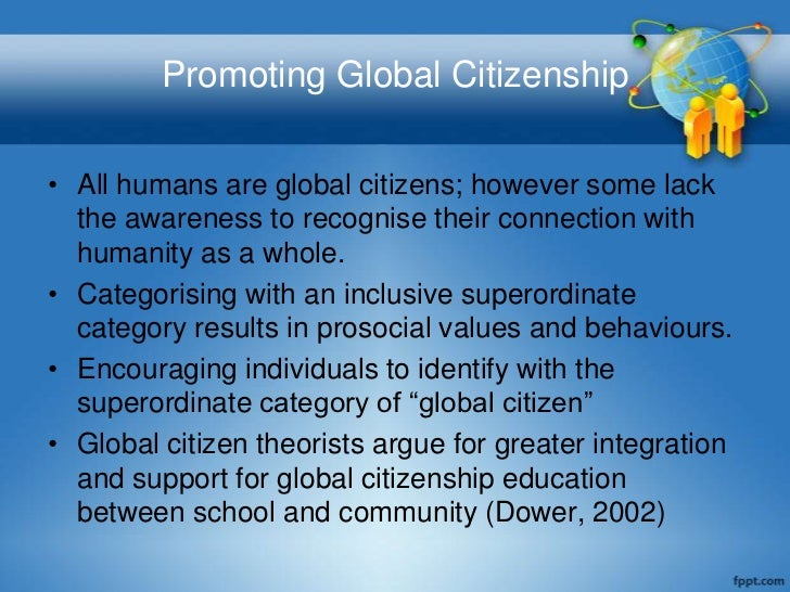 essay about global citizenship