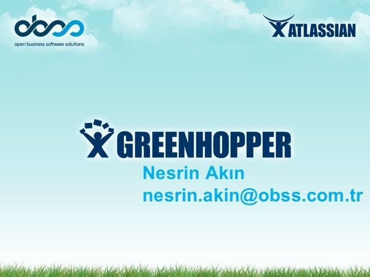 Atlassian GreenHopper