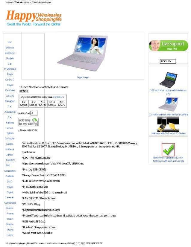 Notebook, Wholesale Notebook, China Notebook Laptop