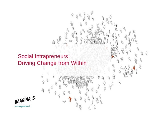 Social Intrapreneurs : Driving Change from Within