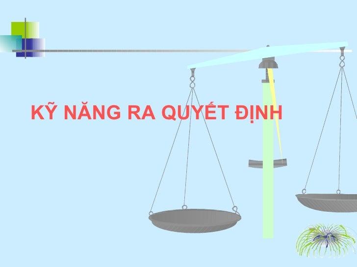 12. Ky Nang Ra Quyet Dinh