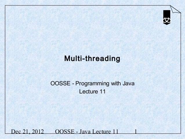 12 multi-threading