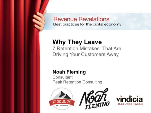 Why They Leave: 7 Retention Mistakes That Are Driving Your Customers Away