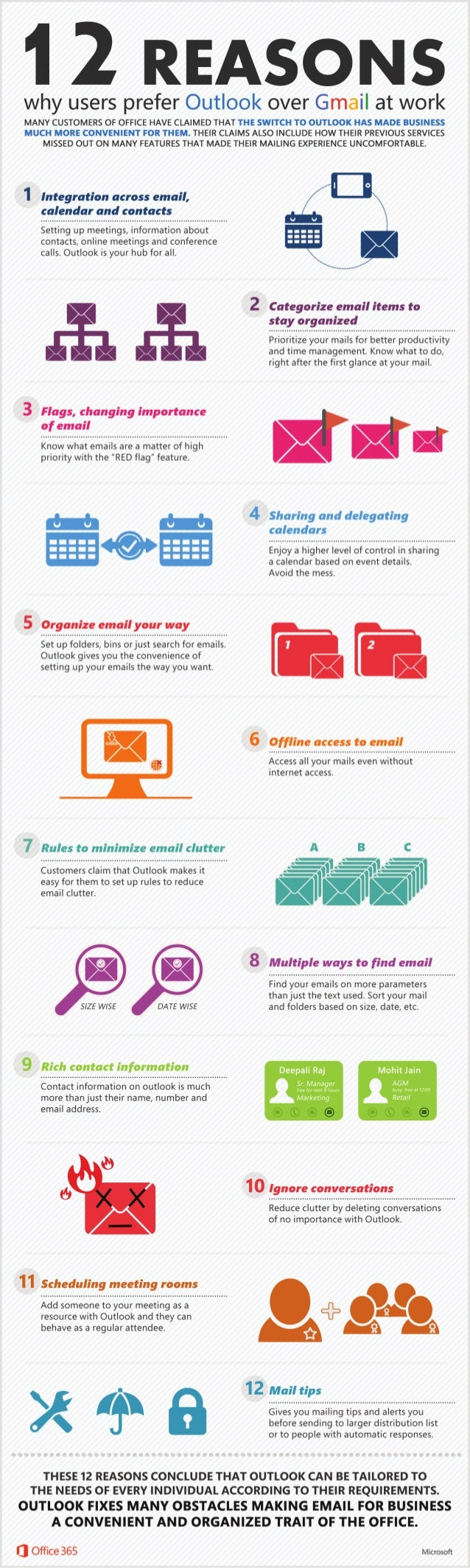 12 Reasons Why Users Prefer Outlook Over Gmail