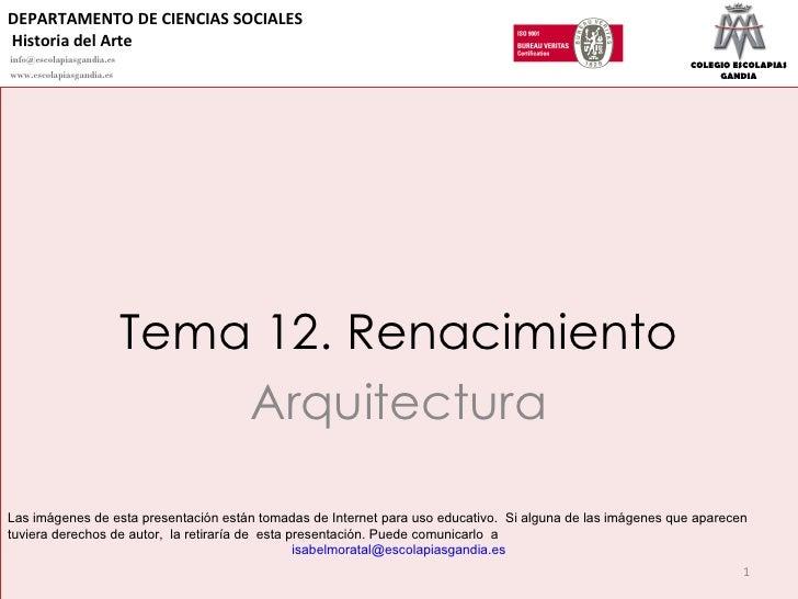 12.  renacimiento arquitectura 2010