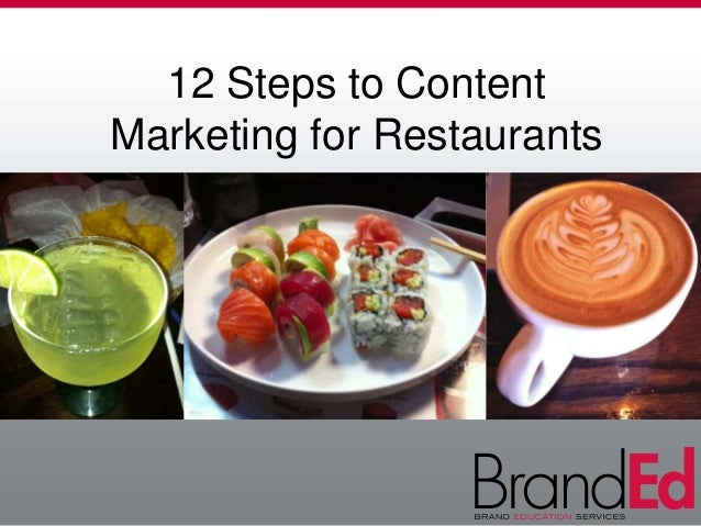 12 Steps to Content Marketing for Restaurants
