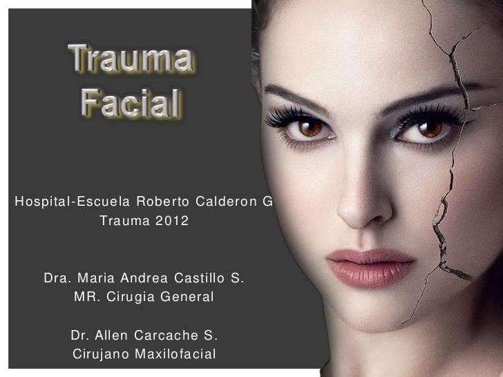 12.trauma facial