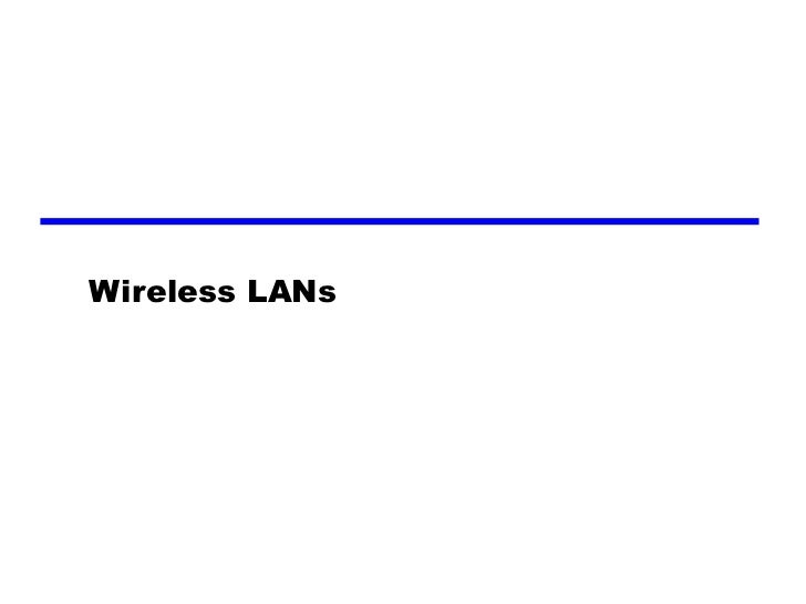 12 wireless la-ns