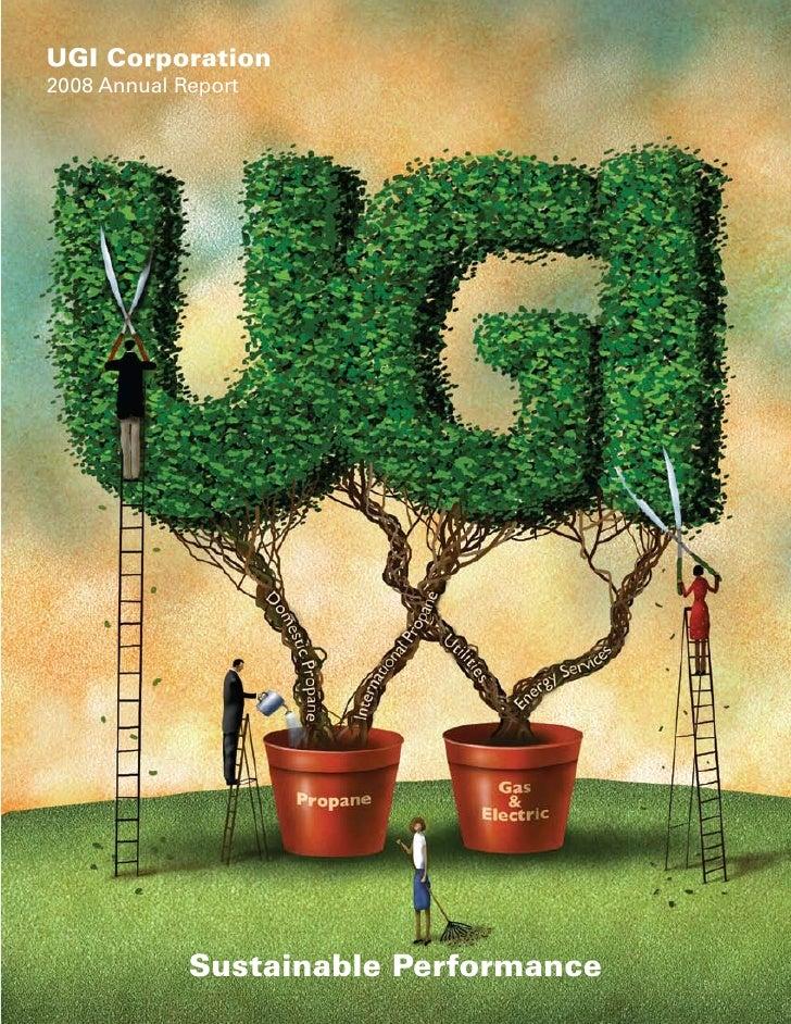 UGI Corporation 2008 Annual Report                  Sustainable Performance
