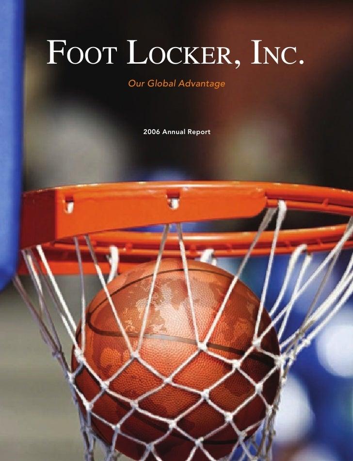 foot locker annual reports 2006