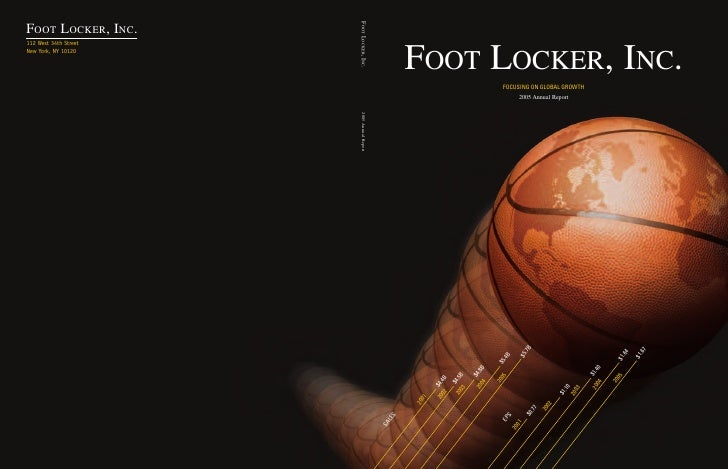 foot locker annual reports 2005